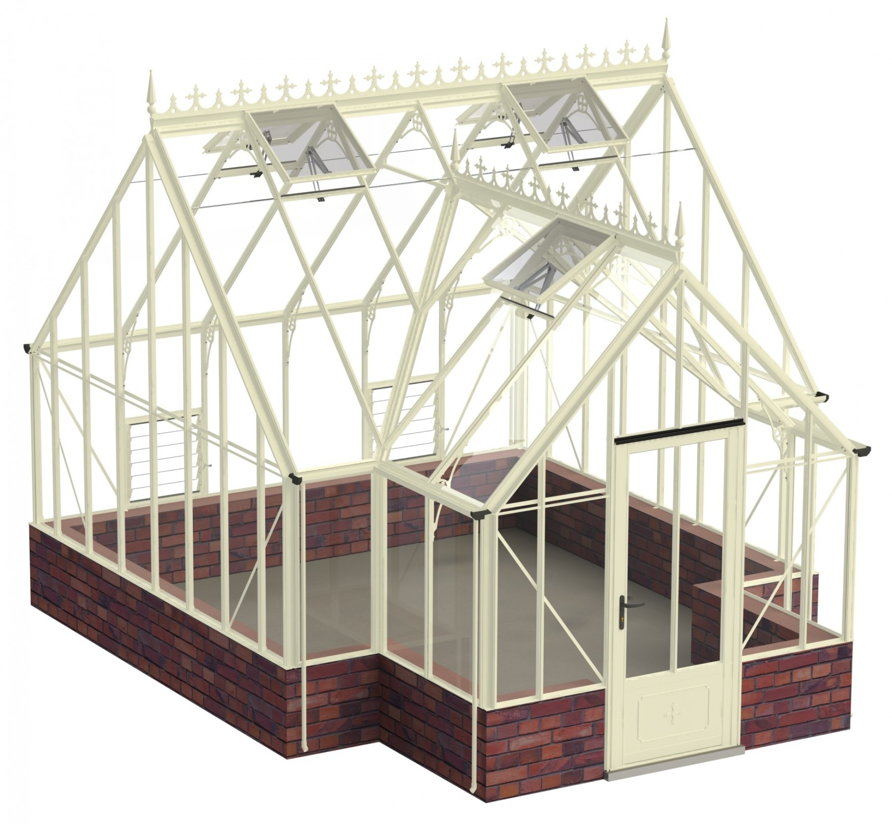 Robinsons Roemoor 15ft x 12ft8 in Ivory