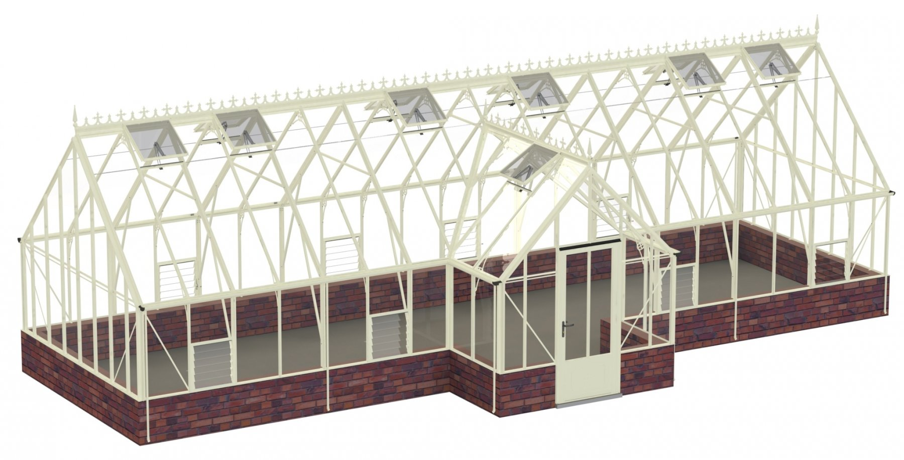 Robinsons Roemoor 15ft x 36ft11 in Ivory
