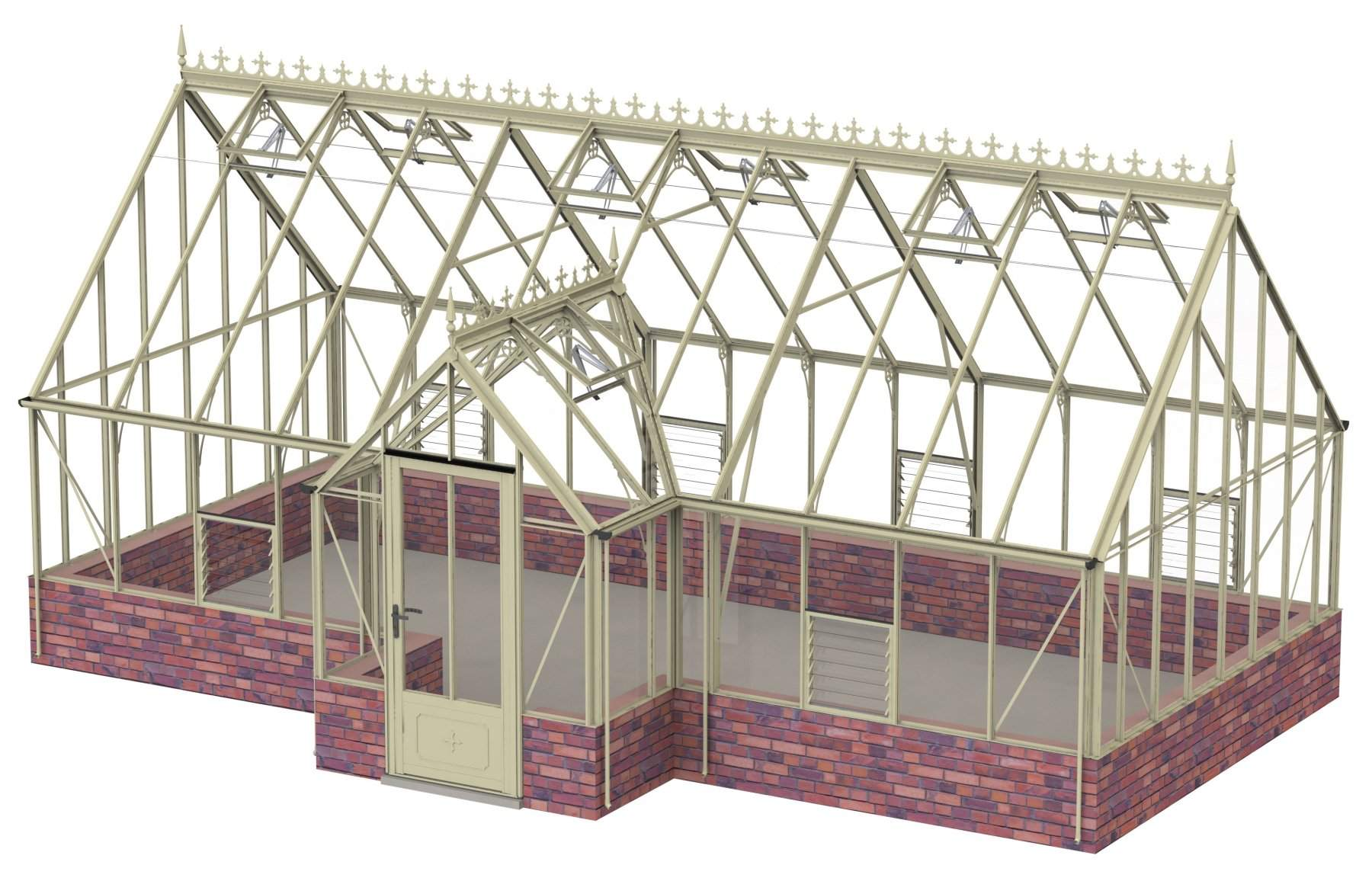 Robinsons Ramsbury in Ivory 14ft x 24ft8