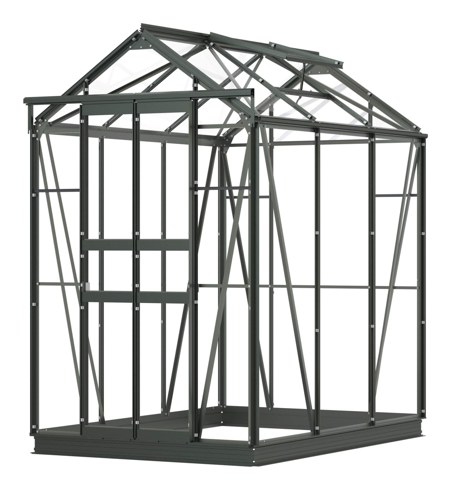 simplicity sandon old cottage green greenhouse 4ft2 wide 1295mm x 6ft3 long 1910mm