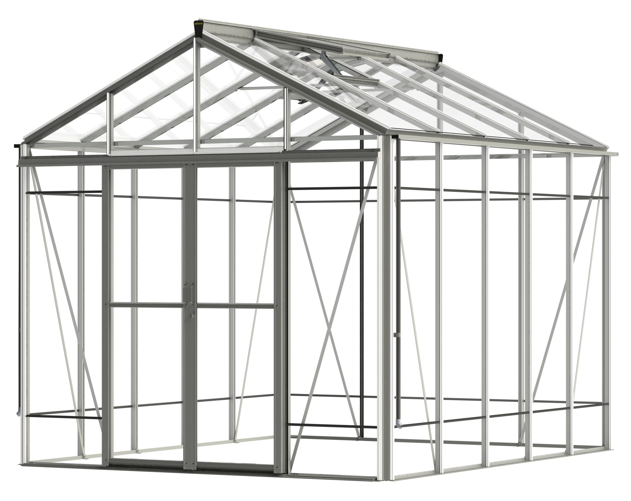 Robinson Reach (Extra high Royale) Mill 8ft8 x 10ft8 Greenhouse
