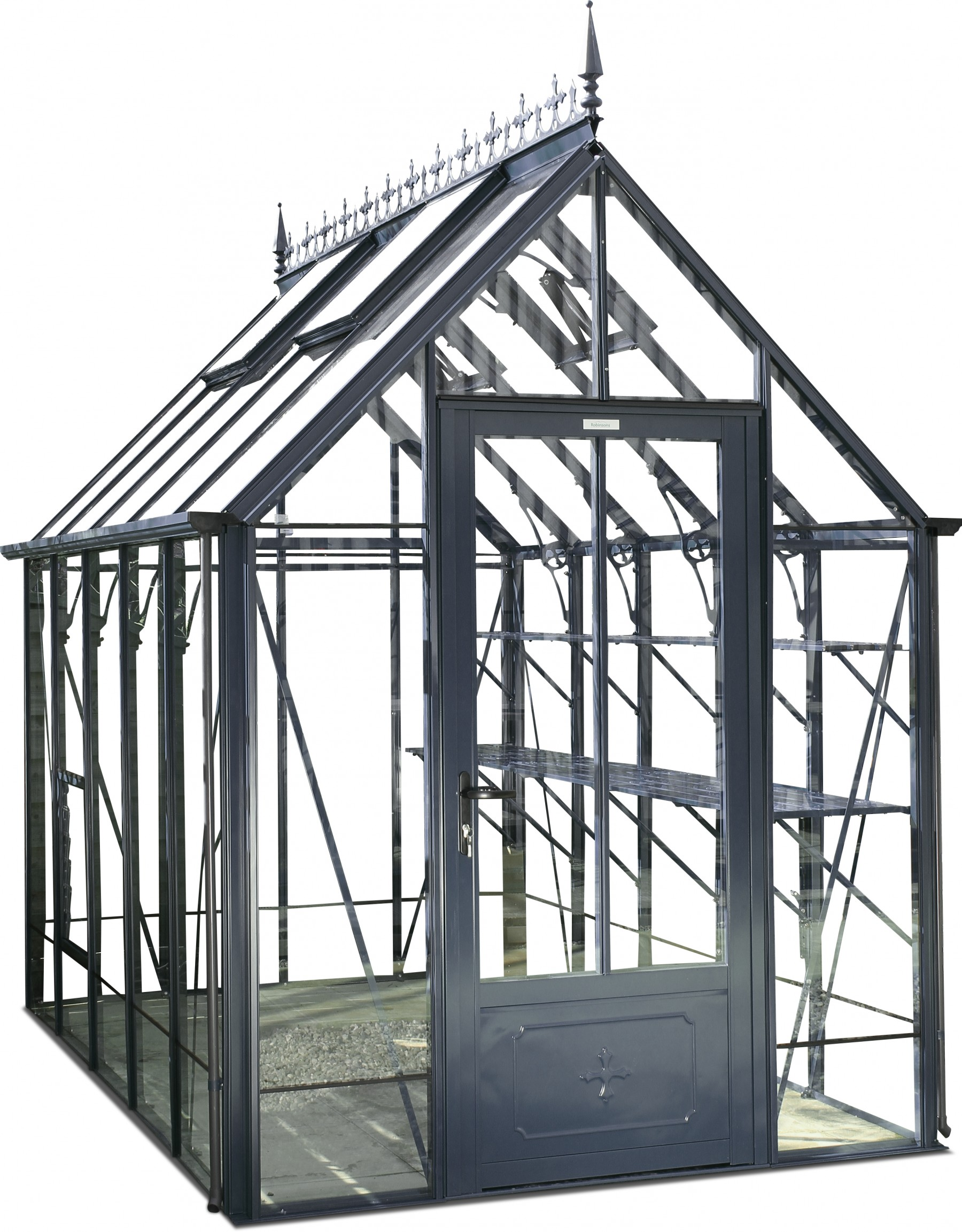 Robinsons Repton 6ft x 8ft Anthracite