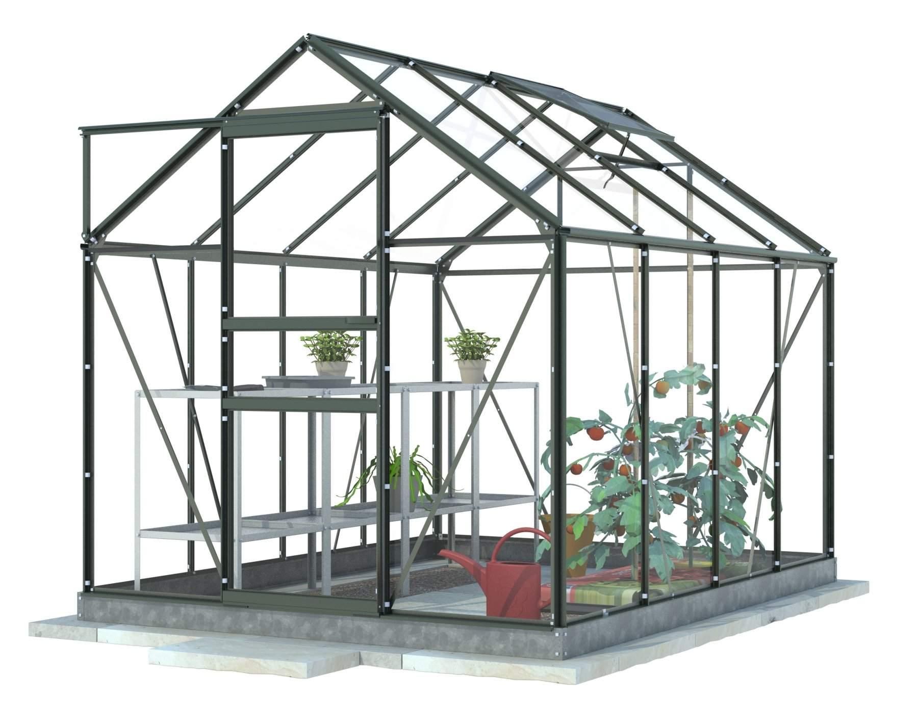Greenhouse 2-Tier Plant Propagator Green SALE £6.00