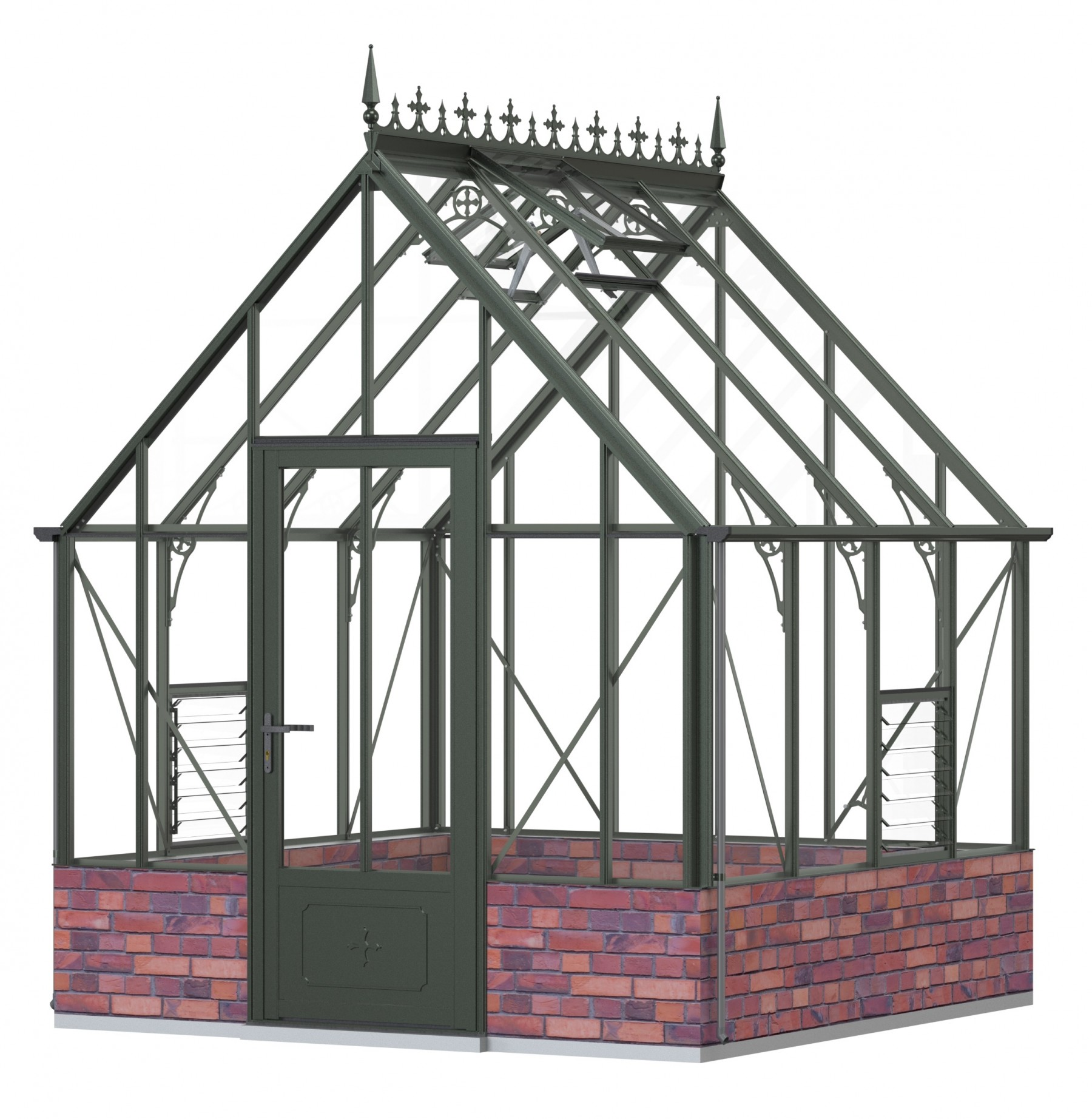 Robinsons Rushmoor Old Cottage Green 8ft x 8ft