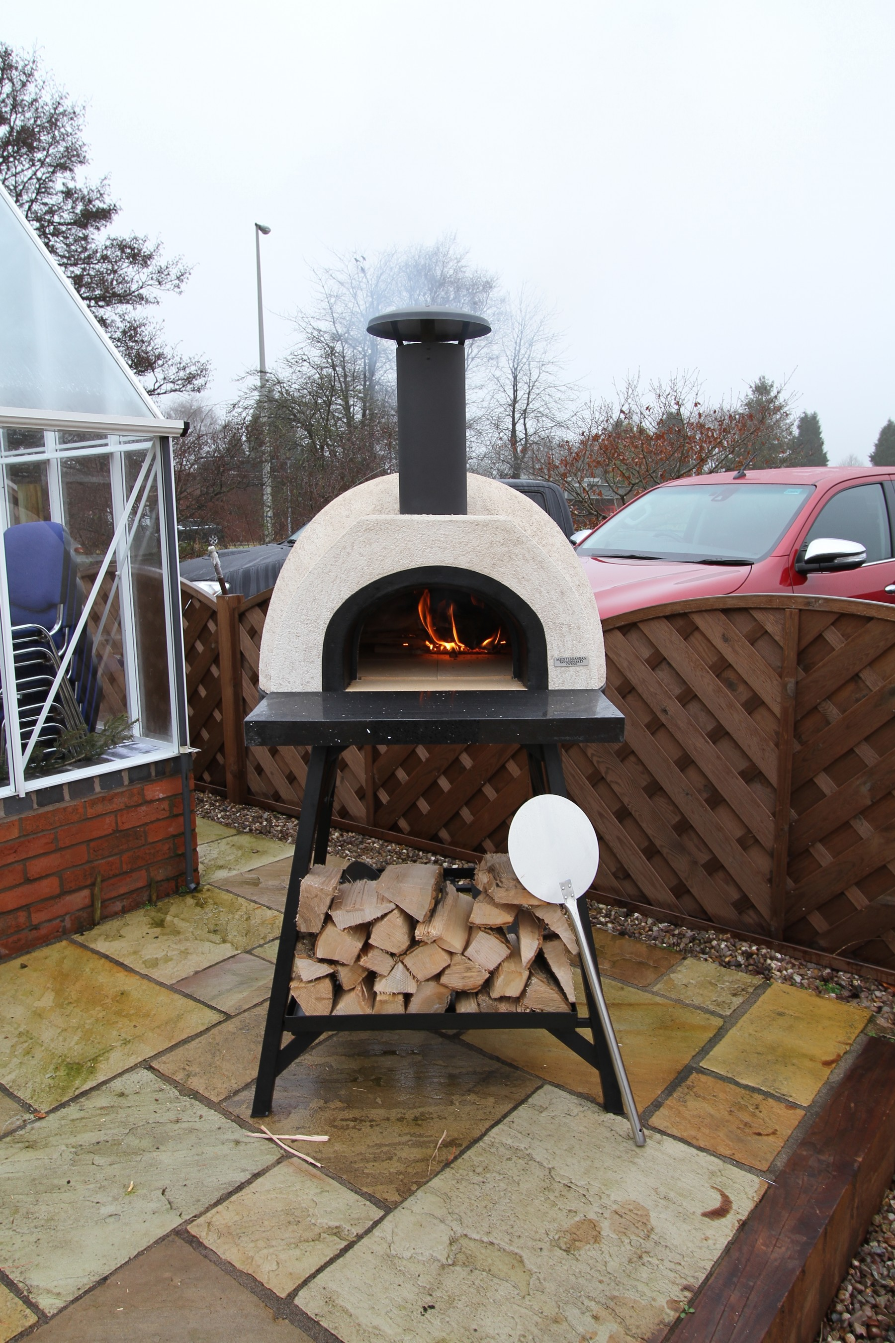 wood fired pizza oven instructions
