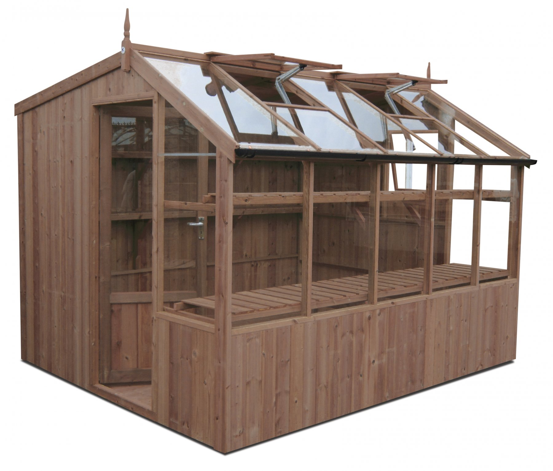 shed jay sheds htm swallow greenhouse wooden potting stores