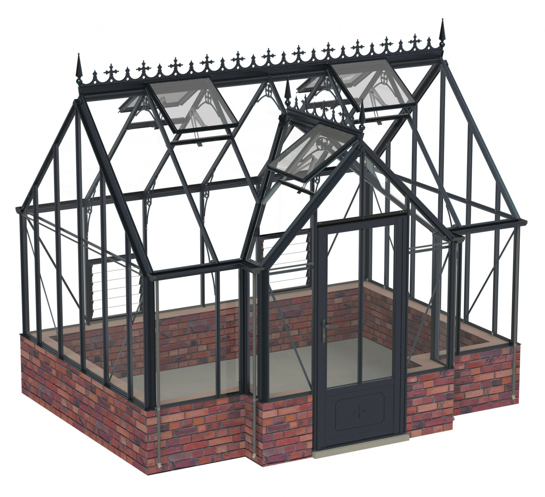 Robinsons Rushby Anthracite 9ft x 12ft