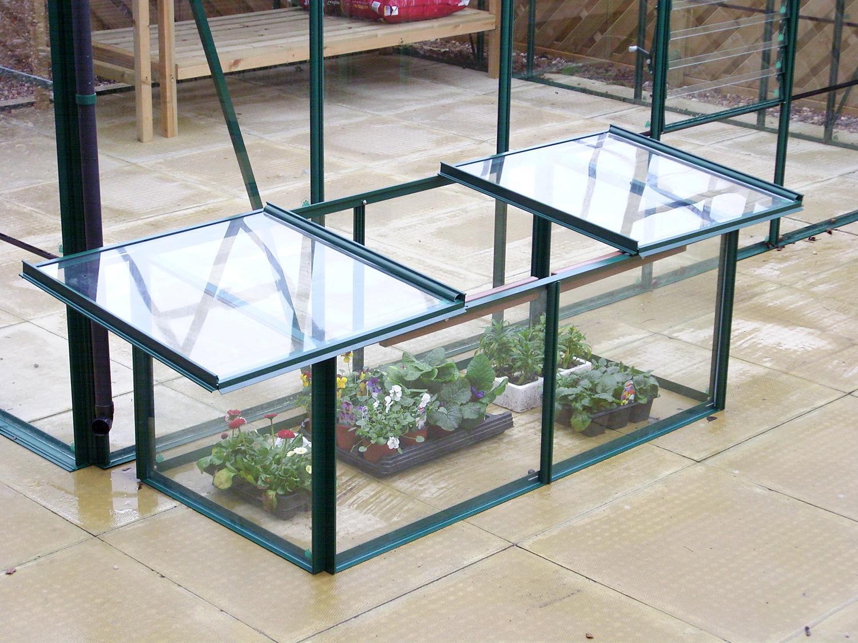 simplicity cold frame 4ftx2ft green. Black Bedroom Furniture Sets. Home Design Ideas