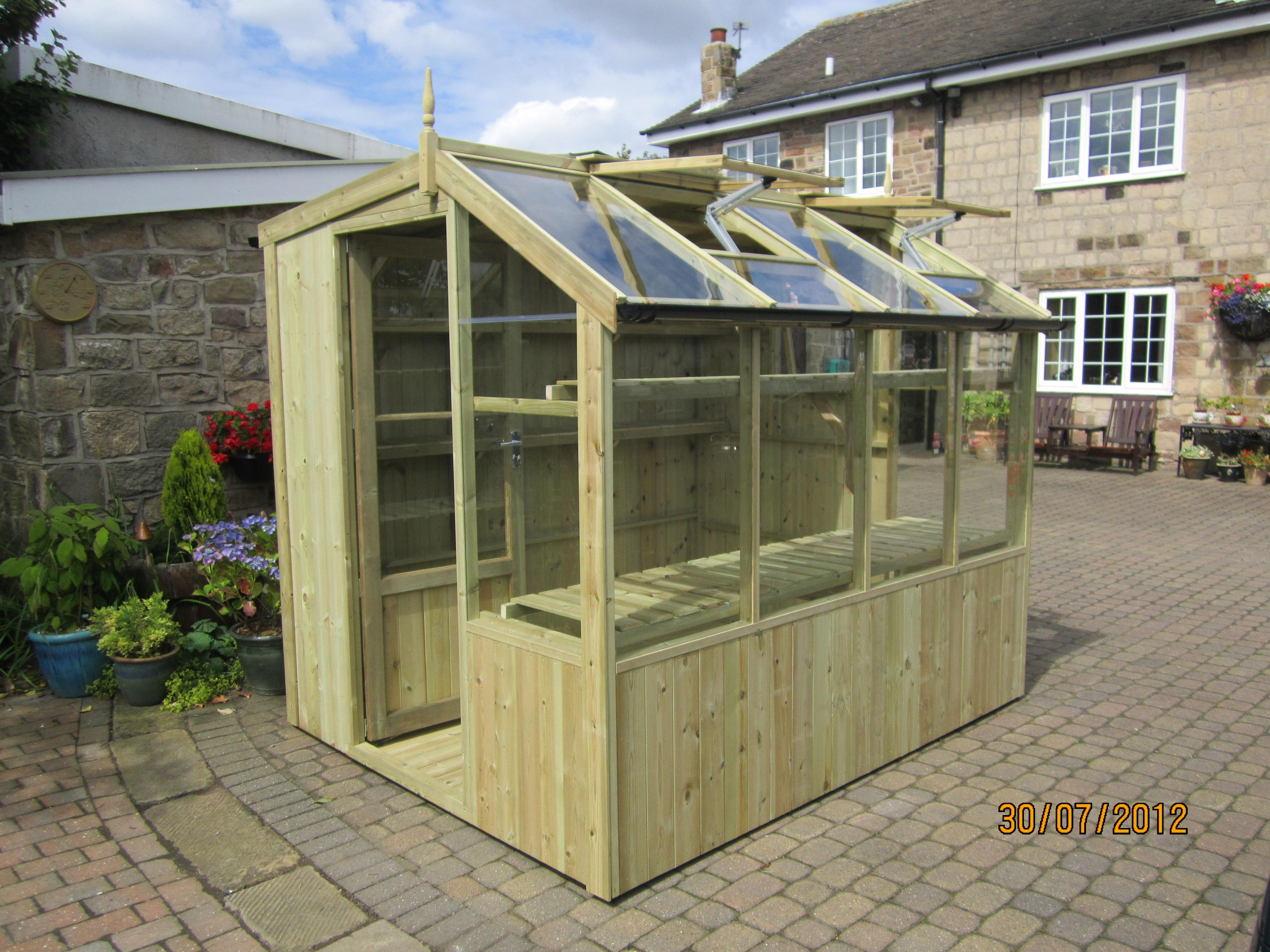 Jay Potting Shed 68 X 105 Greenhouse