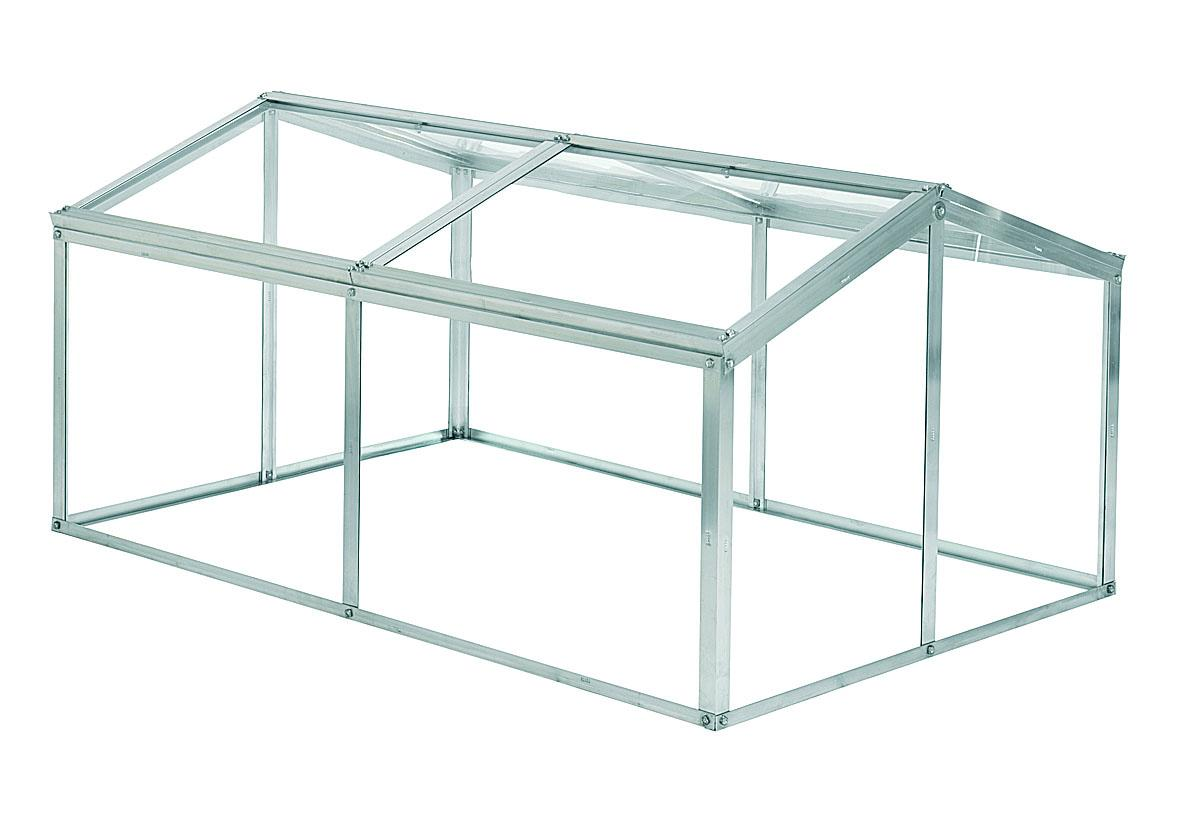 Halls greenhouse Jumbo Cold frame with Toughened Glass included