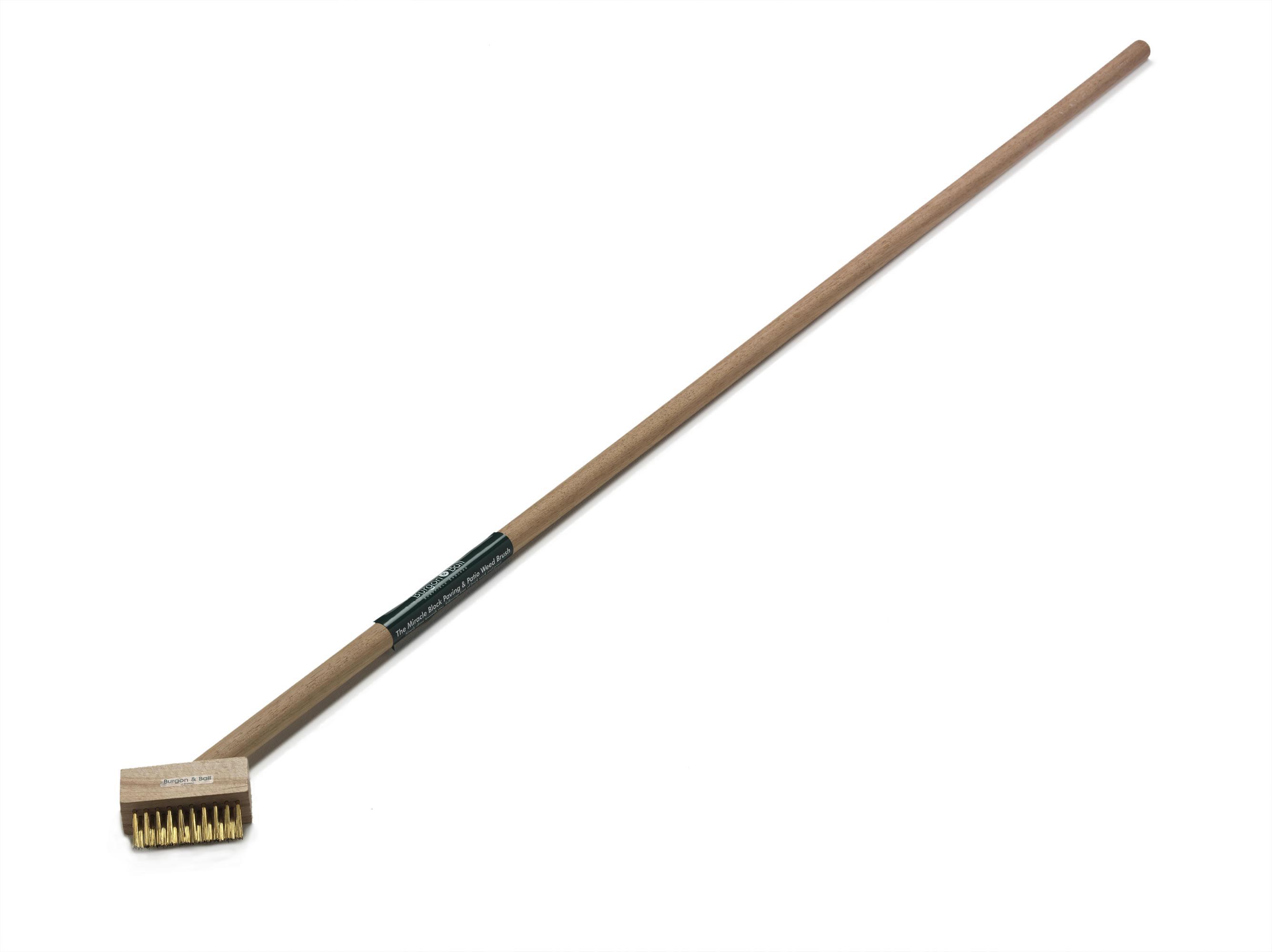 Long Handled Miracle Block Paving Brush