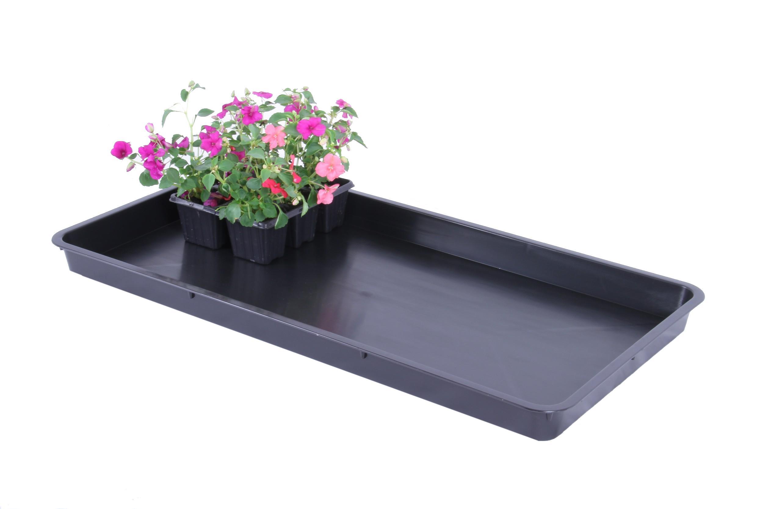 Merveilleux Garland Pack Of 3 Maxi Garden Tray 400mm X 790mm Black