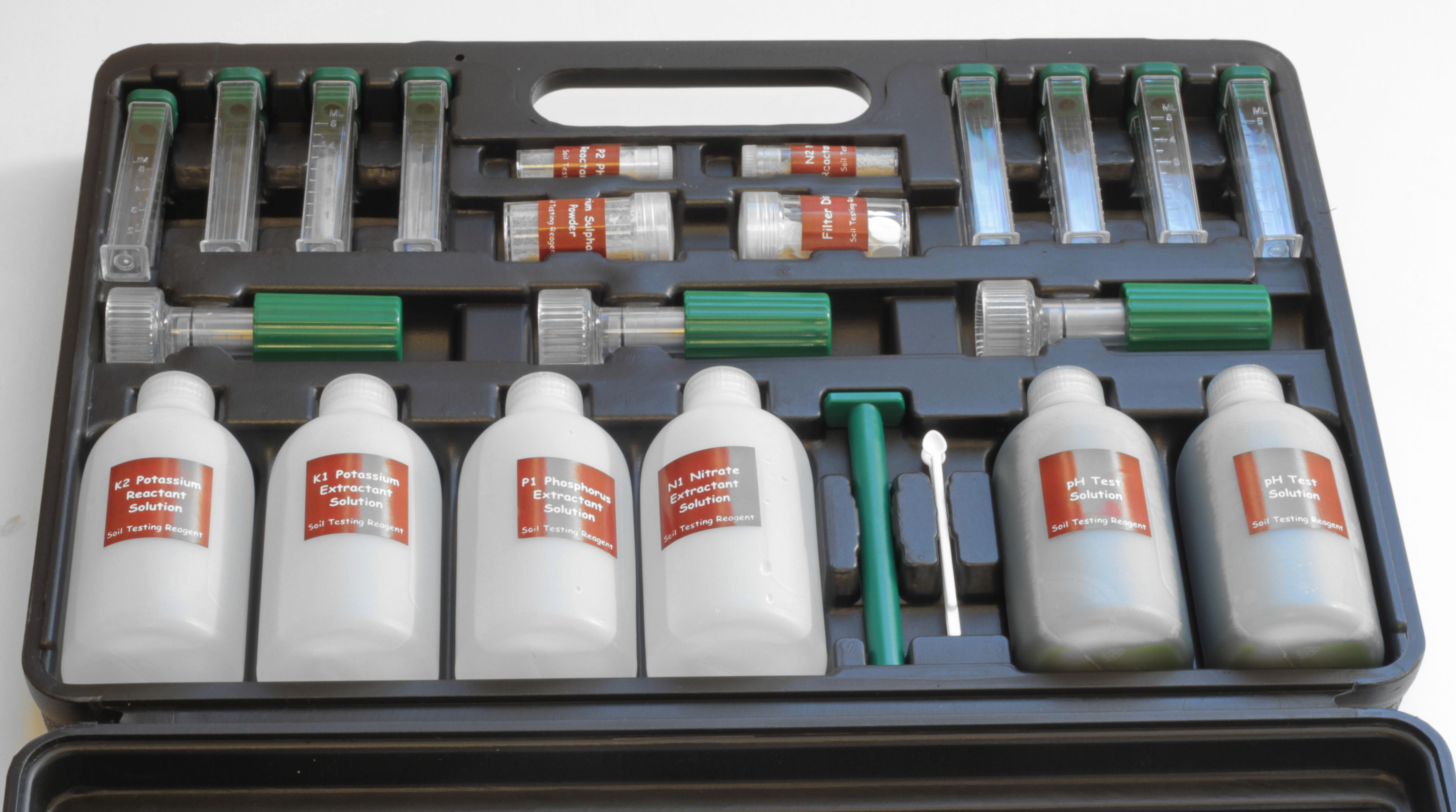 Simplicity professional soil testing kit for Soil nutrient test kit