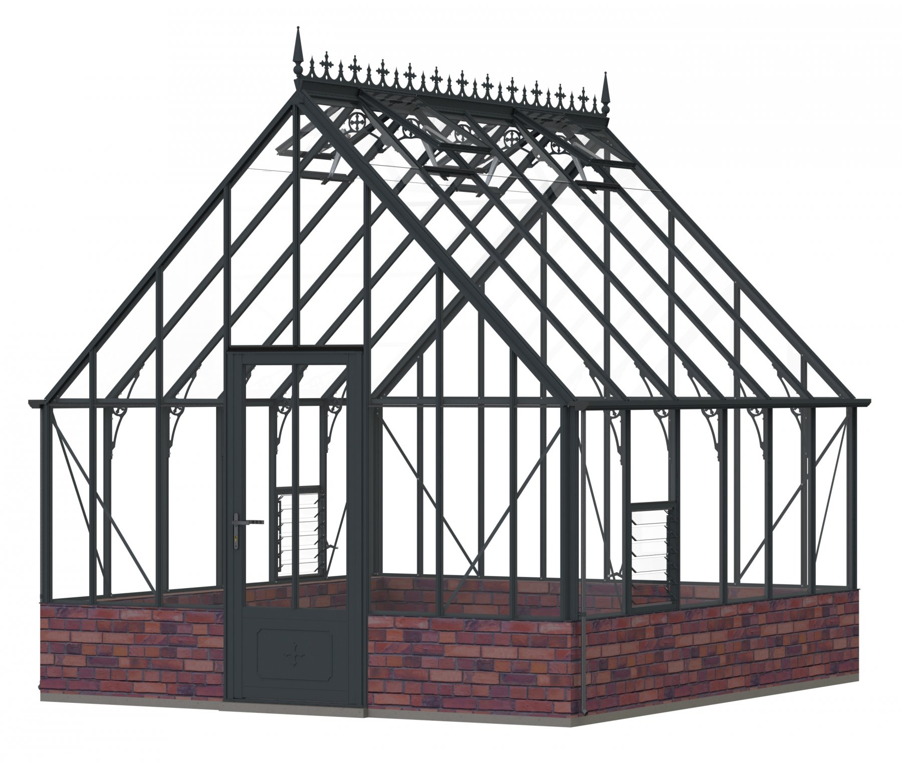 """Robinsons Roedean Victorian Anthracite 11'7"""" x 12'7"""""""