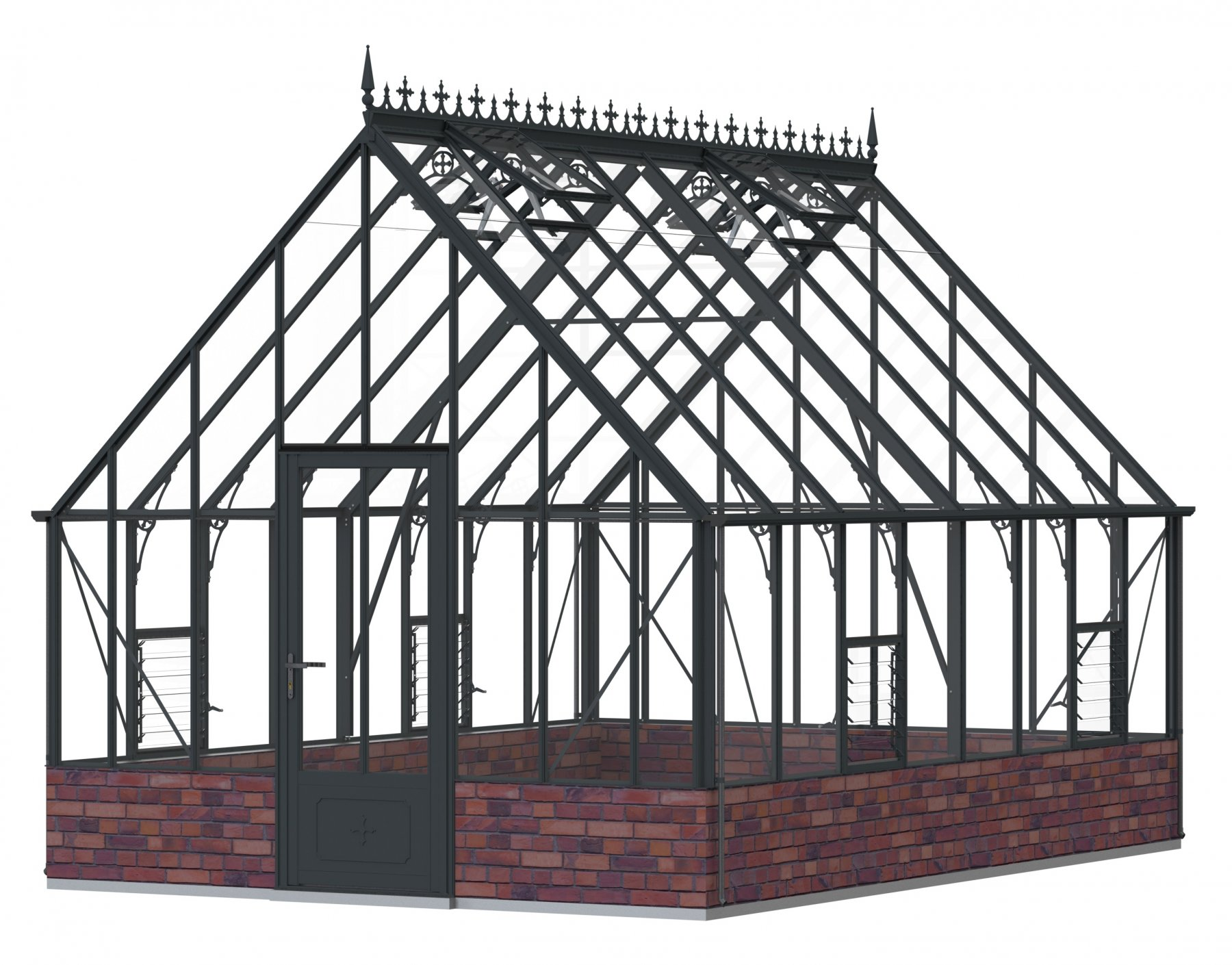 Robinsons Roedean Victorian Anthracite 11'7