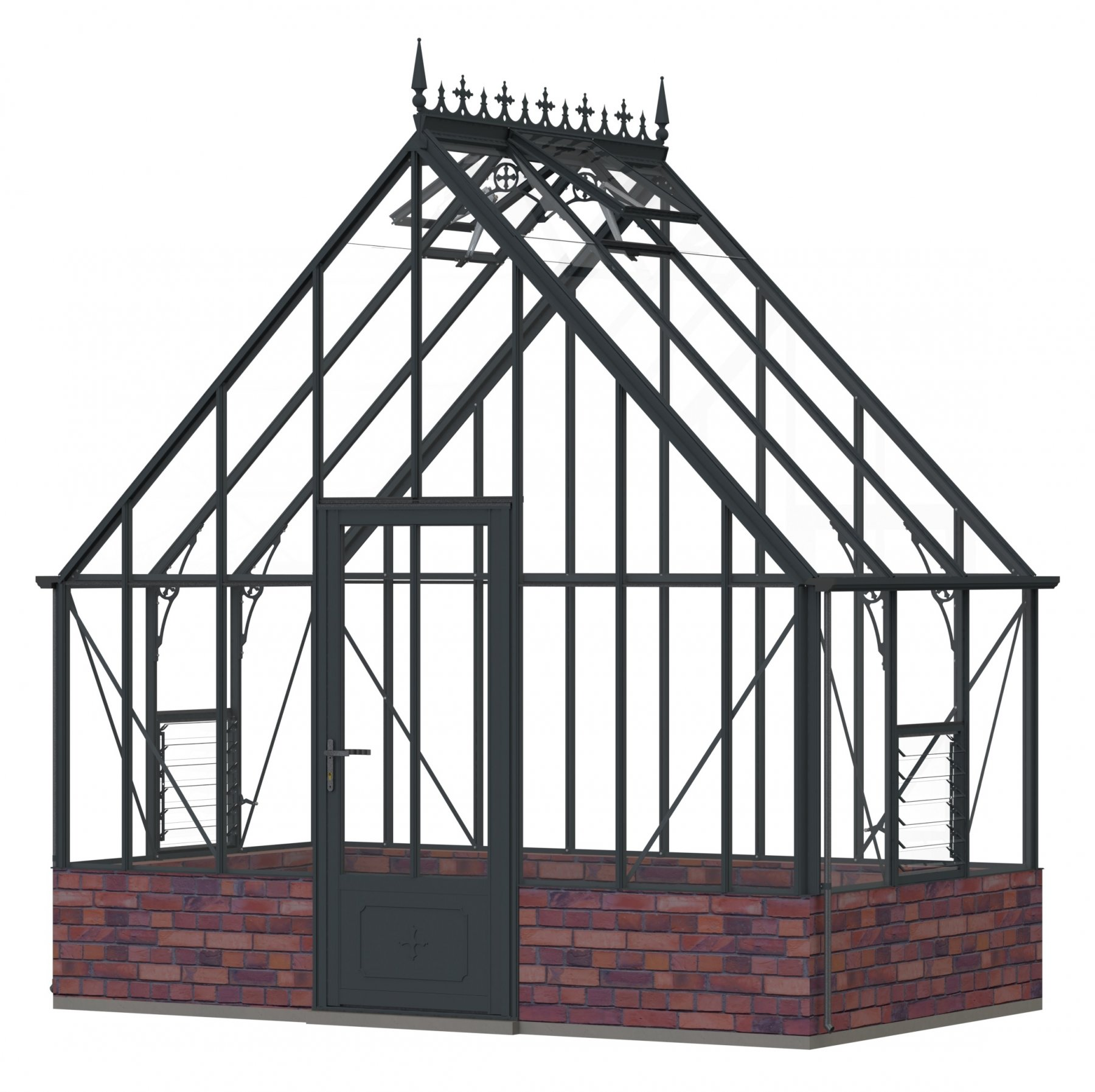 Robinsons Roedean Dwarf Wall Anthracite 11'7