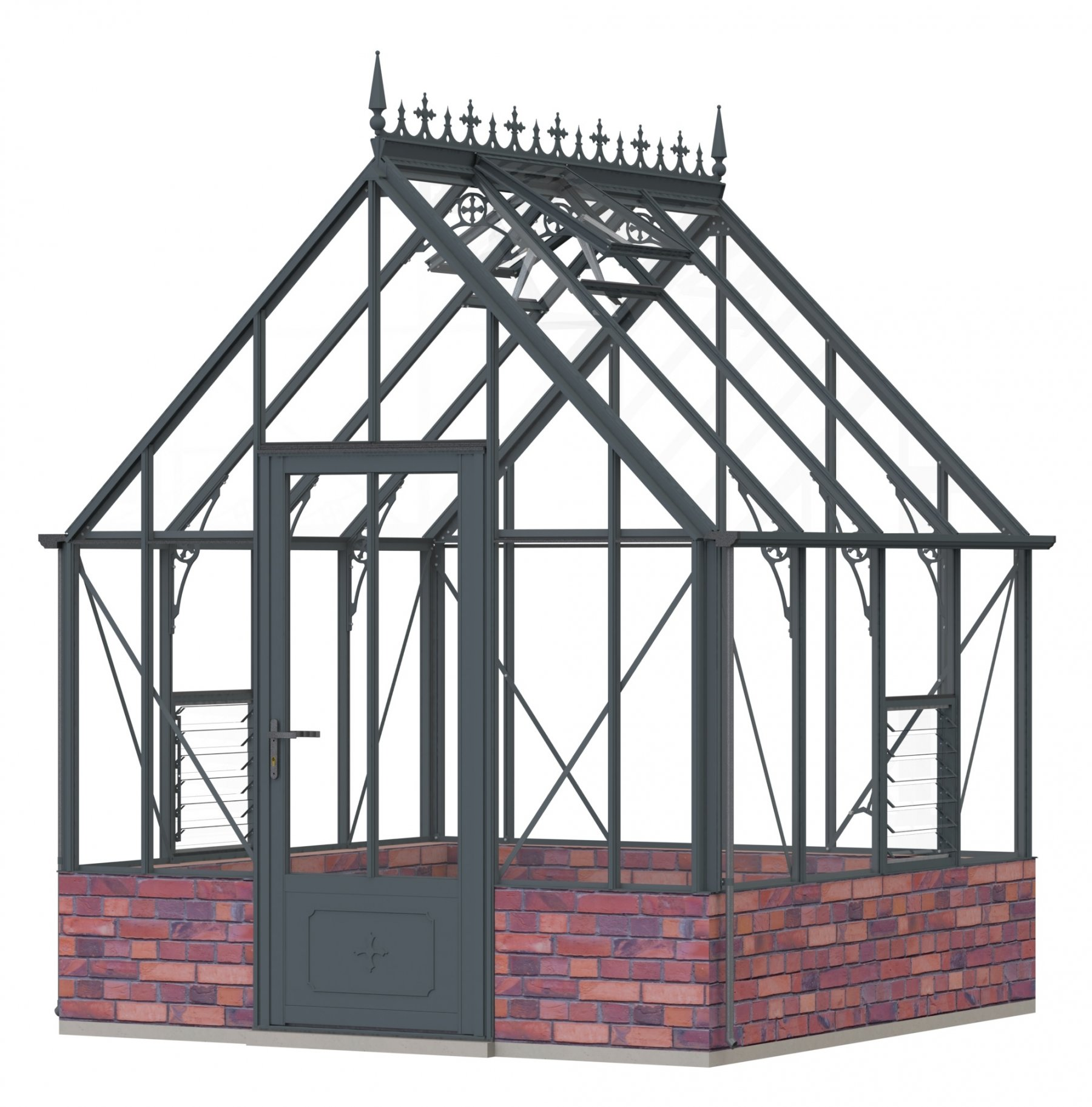Robinsons Rushmoor Anthracite 8ft x 8ft