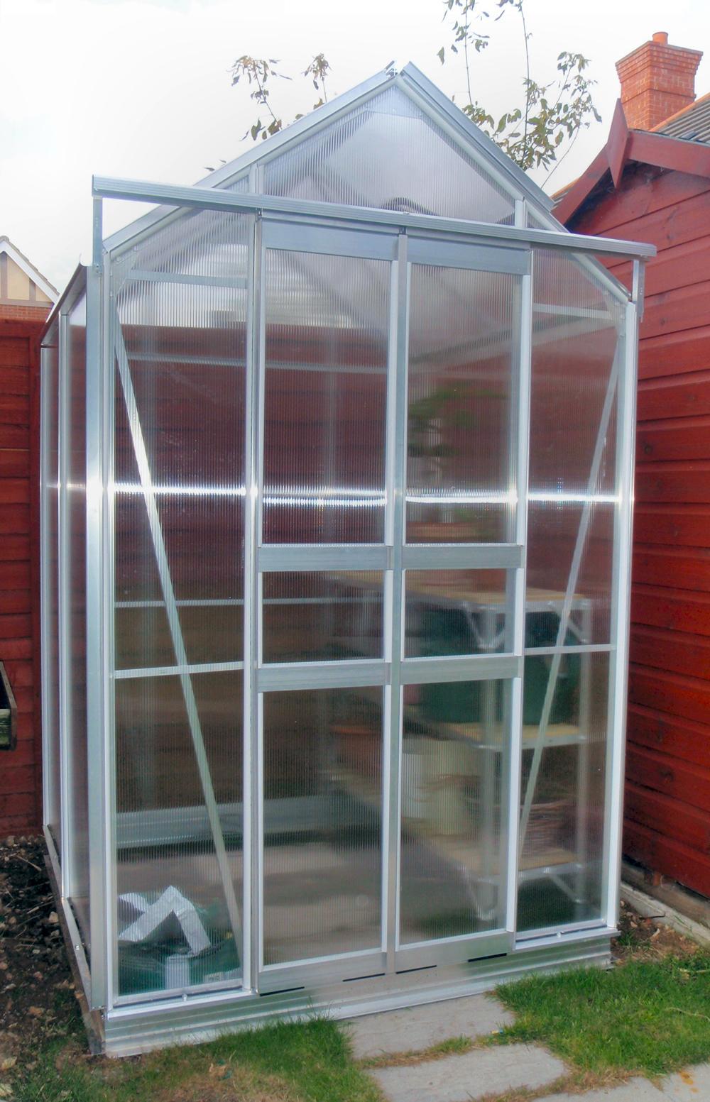 Simplicity Sandon Polycarbonate 4x4 greenhouse