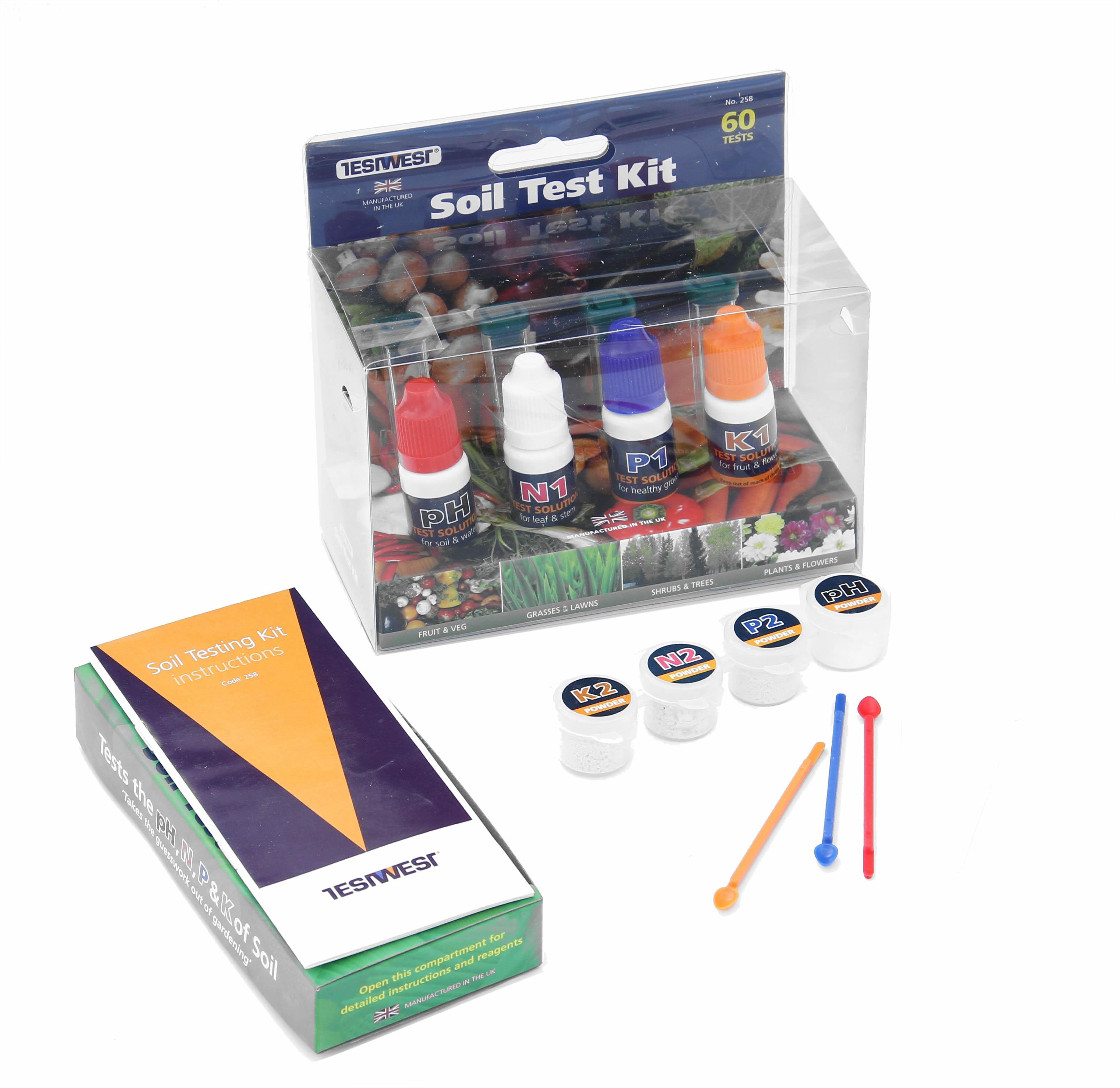 simplicity soil testing kit. Black Bedroom Furniture Sets. Home Design Ideas