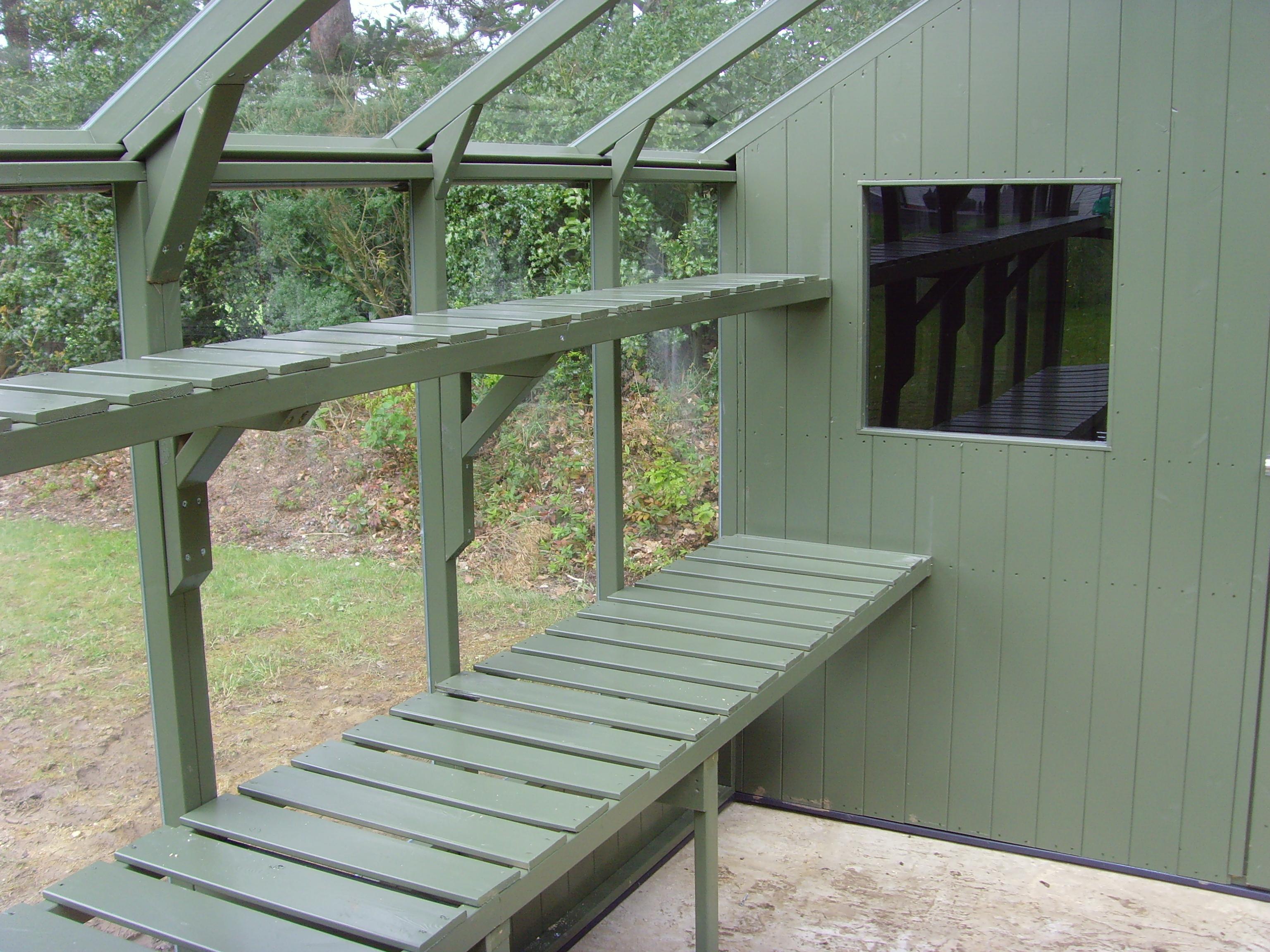 Swallow 8ft Wide 12ft Long Bracken Green Greenhouse