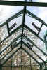 Robinsons roof vents with automatic opener, in Classic Green