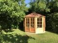 Mickleton 8x9 Summerhouse (Red Felt Roof)