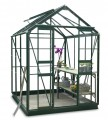 Simplicity Stafford 5x6 Green Greenhouse Starter Package