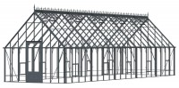 """Robinsons Reigate Victorian Anthracite 11'7"""" x 40'9"""""""