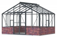 Regal 12ft7 x 10ft8  Anthracite  *DWARF WALL**