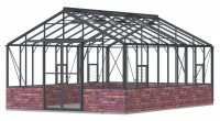 Regal 12ft7 x 18ft9 Anthracite  **DWARF WALL**
