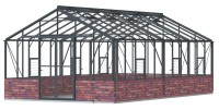 Regal 12ft7 x 22ft11 Anthracite  **DWARF WALL**