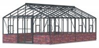 Regal 12ft7 x 24ft11 Anthracite  **DWARF WALL**