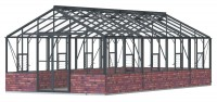 Regal 12ft7 x 26ft10 Anthracite  **DWARF WALL**