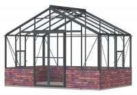 Regal 12ft7 x 8ft8 Anthracite **DWARF WALL**