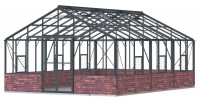 Renown 14ft8 x 20ft Anthracite  **DWARF WALL**