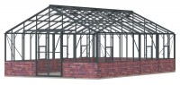 Renown 14ft8 x 24ft Anthracite  **DWARF WALL**