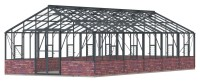 Renown 14ft8 x 32ft Anthracite  **DWARF WALL**