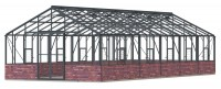 Renown 14ft8 x 34ft Anthracite  **DWARF WALL**