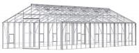 Renown 14ft8 x 36ft White