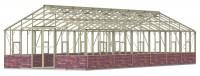 Renown 14ft8 x 38ft Ivory  **Dwarf Wall**