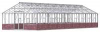 Renown 14ft8 x 50ft White  **DWARF WALL**