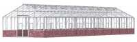 Renown 14ft8 x 60ft White **DWARF WALL**