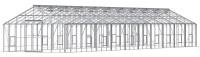 Renown 14ft8 x 61ft4 Plain Aluminium