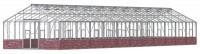 Renown 14ft8 x 61ft4 Plain Aluminium **DWARF WALL**