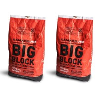 All-Natural Big Block XL Lump Charcoal, 20 Lb (2 Pack)