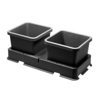 2 Pot Extension Module for Easy2Grow Kit Black