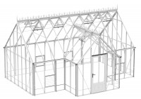 Robinsons Reicliffe White  15ft x 20ft8