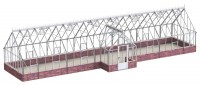 Robinsons Roemoor White 15ft x 52ft