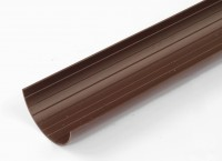 "3"" (76mm) Half round gutter 63"" (1600mm) long 02-2506"