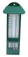 Digital Max/Min thermometer green Pack of 10
